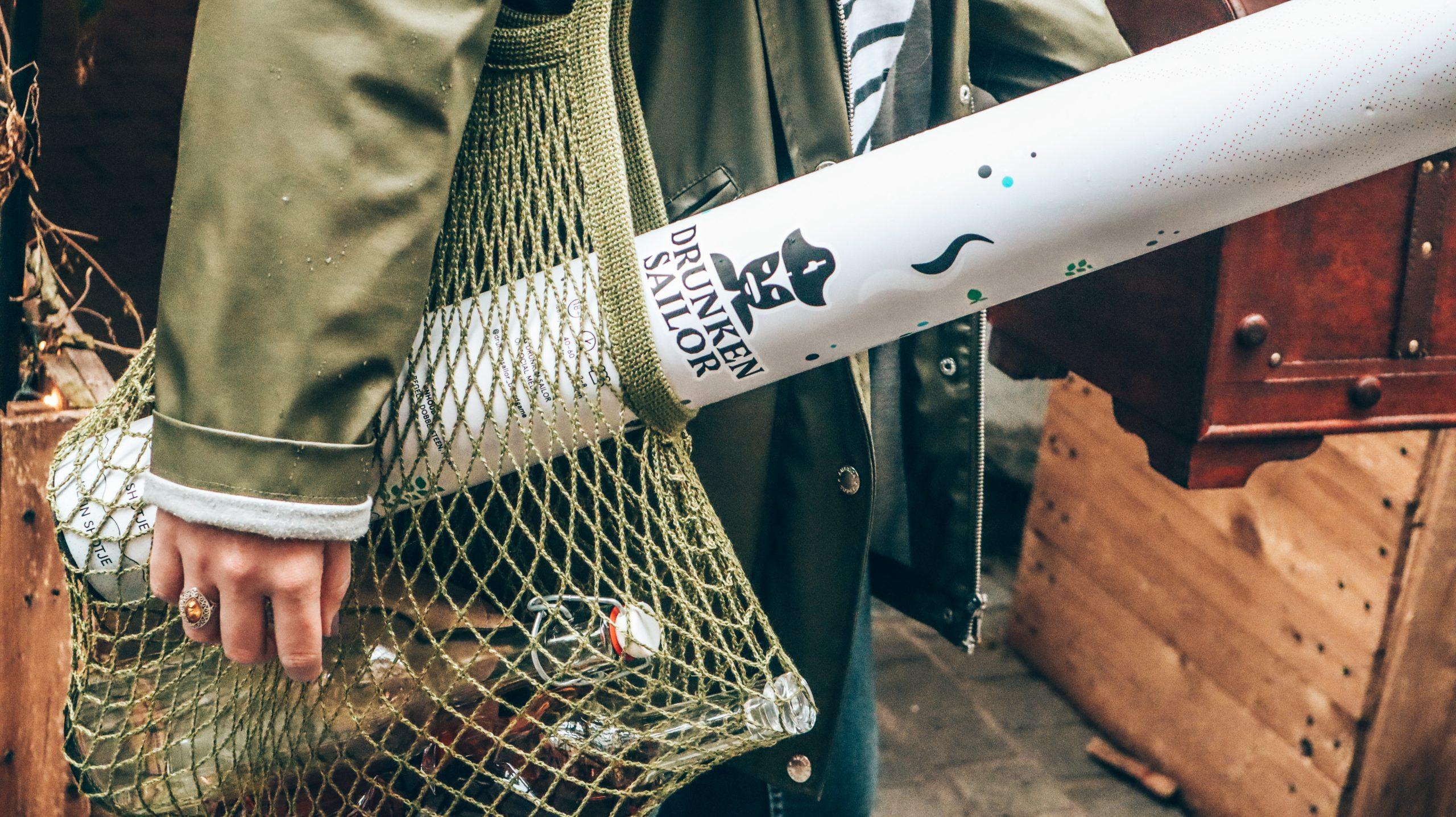 Visnet tas met spel